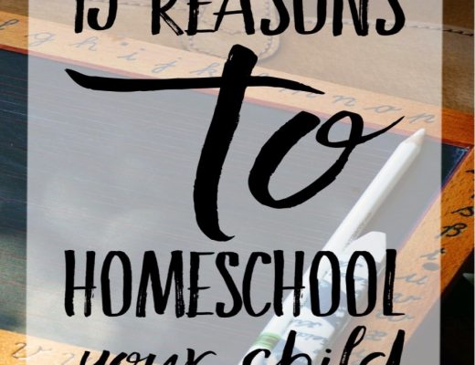 13 Goods Reasons to home school