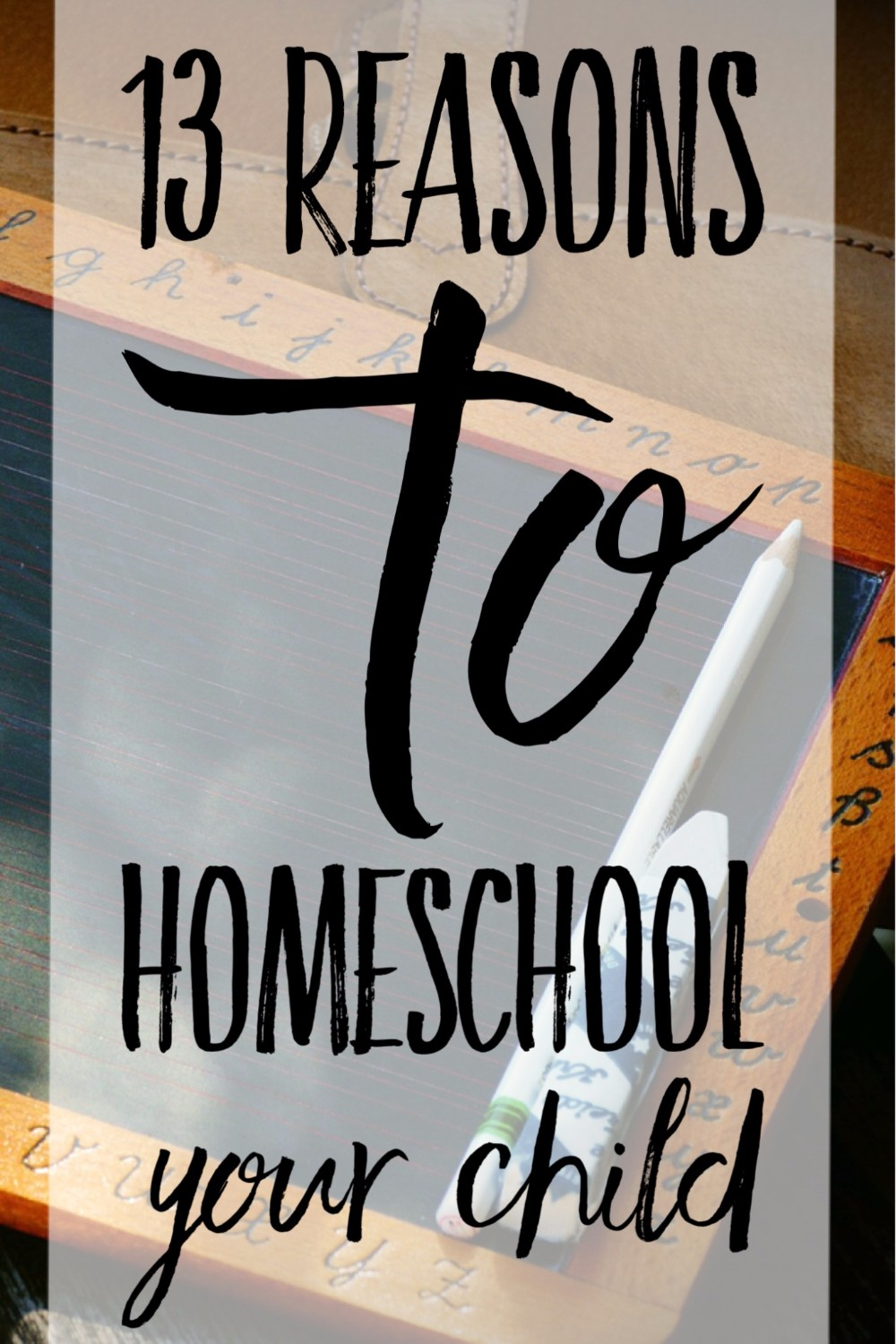 Yup! After reading this I am sure I will homeschool my children. So many great reasons to homeschool