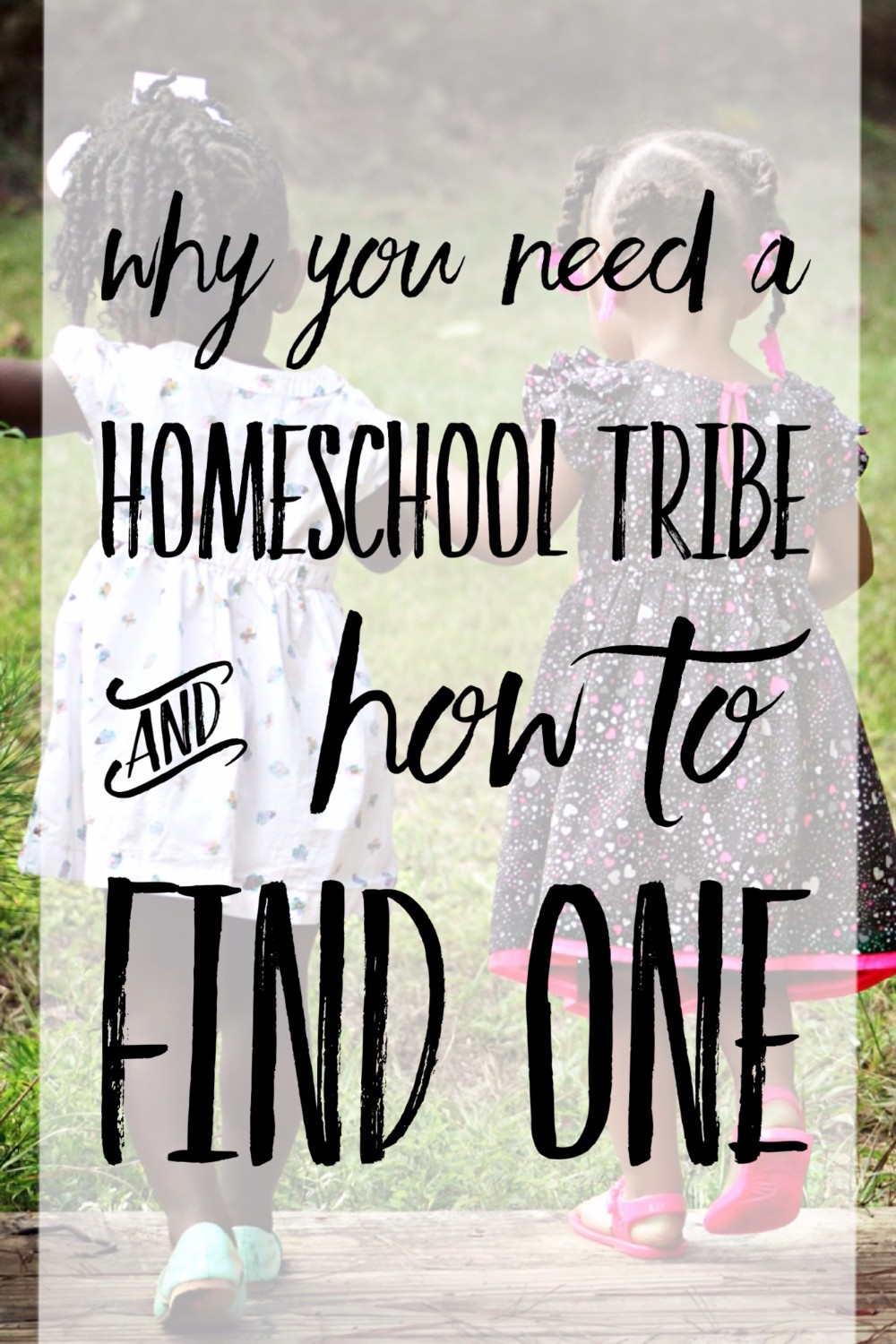 yes! yes! yes! Having a supportive community when homeschooling is imperitive! I'm so happy to have found my people!
