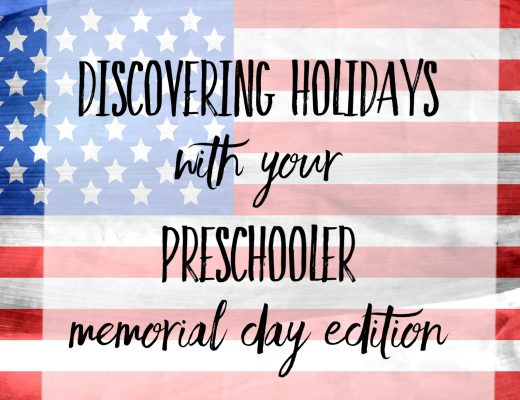 Memorial Day Activities for Preschoolers