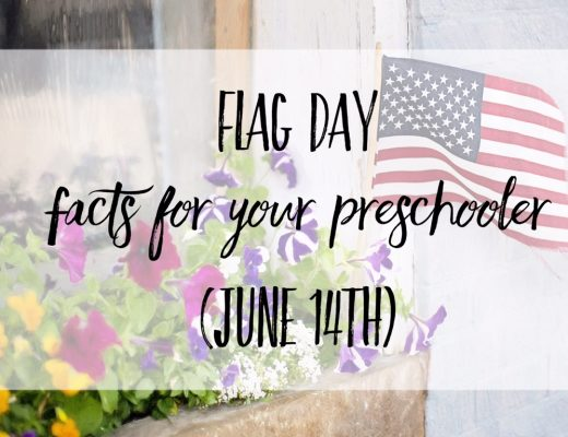 Flag day facts and activities for kids/preschoolers