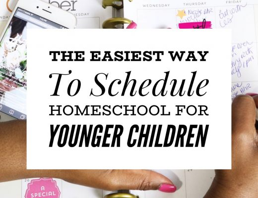 Easy Homeschooling Schedule For Kindergarten