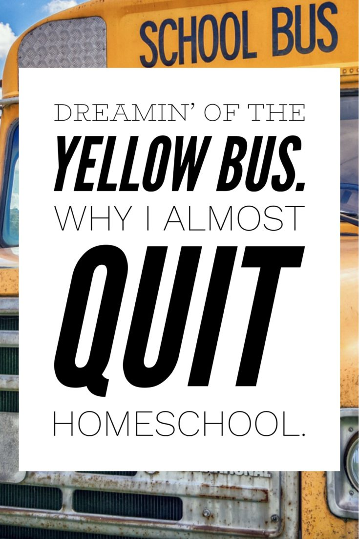 Reason to NOT quit Homeschool!