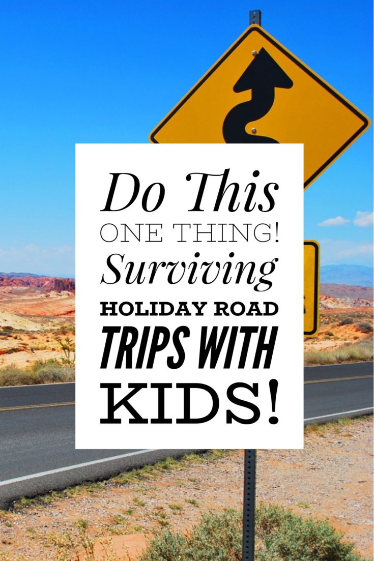 Traveling with kids & toddlers in car road trip