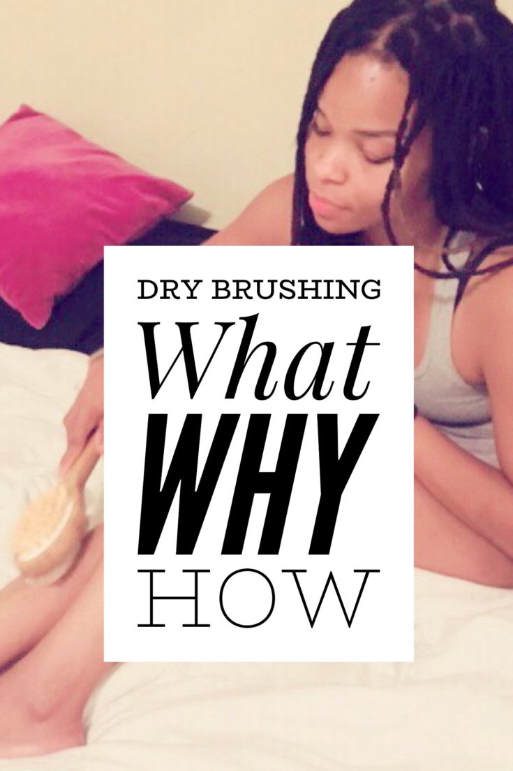 What is Dry Brushing, Why should you do it and How to Dy Brush --Dry brushing face skin before and after
